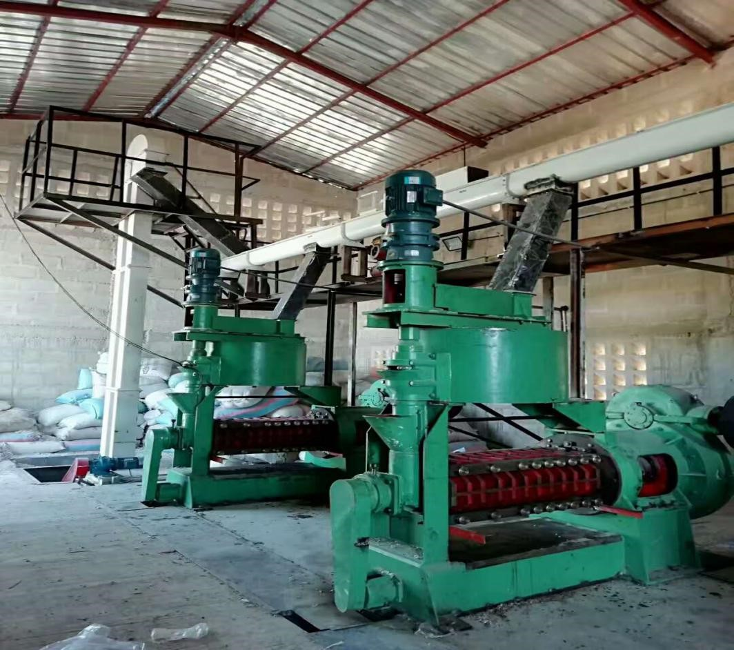 Cottonseed oil extraction production line