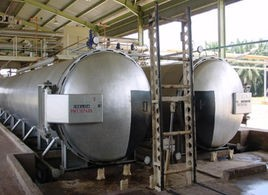 Palm oil extraction production line